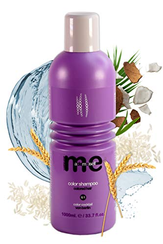 MeMademoiselle Color Shampoo für gefärbtes Haar I Farbschutz Shampoo ohne Silikone I vegane Haar-Pflege für coloriertes Haar I Made in Germany I Haar Shampoo Damen (1000ml)