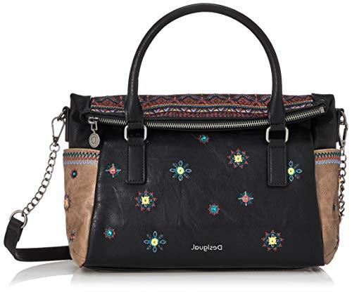 Desigual Bols Luluove Loverty Handtasche 29 cm black