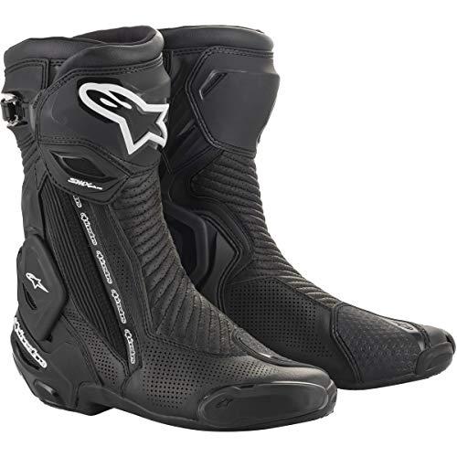 Alpinestars Men's SMX Plus V2 Motorcycle Riding Boot, Black, 45