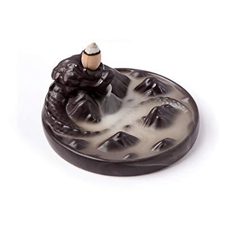 Decoración Zen Titular de Incienso Cascada Cerámica Cerám