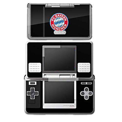 DeinDesign Skin Aufkleber Sticker Folie kompatibel mit Nintendo DS FC Bayern München Fußball Offizielles Lizenzprodukt