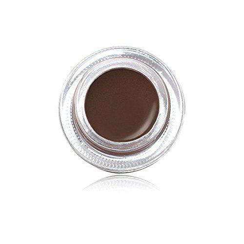 Fish IMAGIC a prueba de sudor de secado rápido de cejas Maquillaje Crema Gel Larga Duración de la ceja Enhancer rimel de los cosméticos