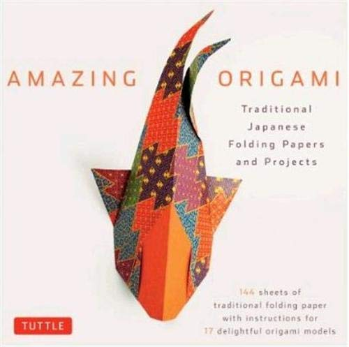 Compare Textbook Prices for Amazing Origami Kit: Traditional Japanese Folding Papers and Projects [144 Origami Papers with Book, 17 Projects] Book and Kit Edition ISBN 9780804841917 by Tuttle Editors
