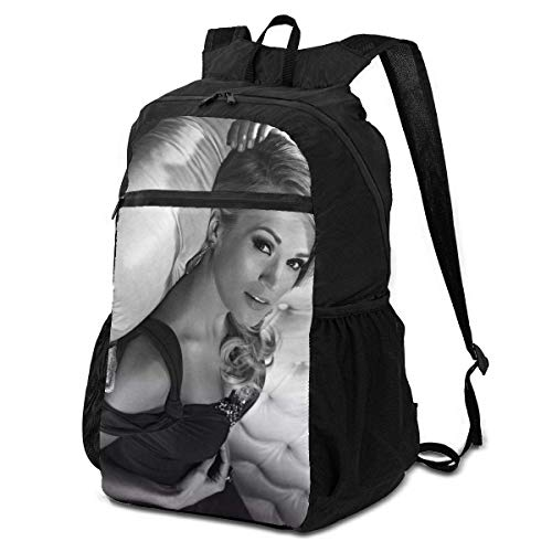 Carrie Underwood Greatest Hits Ultra Lightweight Folding Camping Hiking Portable Travel Backpacks