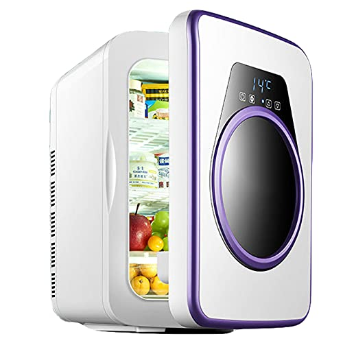 AIISHY Mini refrigerador 22L, Mini refrigerador Pantalla Digital Temperatura Ajustable, bajo Nivel de Ruido, para el hogar pequeño Dormitorio Alquiler de máscaras cosméticas Viaje,33x28.5x41cm