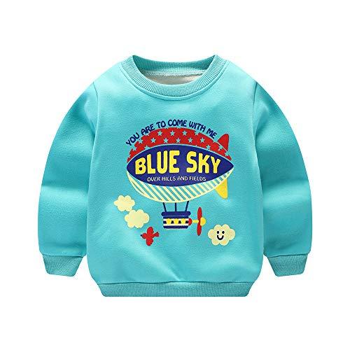 ARYYX Sweatshirt Enfant Garçon Pullover Manches Longues 3D Impression Sweat-Shirt Hiver Multicolore Sport Pull Unisexe