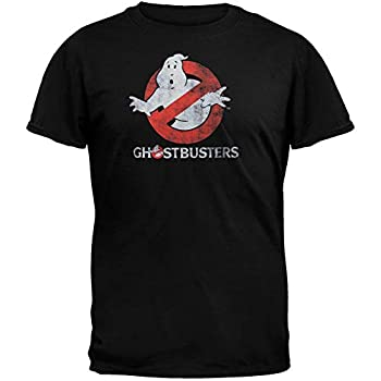 Ghostbusters Men s Logo to go Black Large