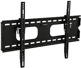 Mount-It Low-Profile Tilting TV Wall Mount Bracket for 32-60 inch LCD, LED, OLED, 4K or Plasma Flat Screen TVs - 175 lbs Capacity, 1.5 Inch Profile, Max VESA 600x400 (MI-318B), Black, 60