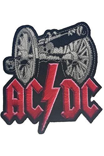 Parche para Planchar Patch AC/DC Logo Heavy Metal Rock Band 6,5cm/6,5cm