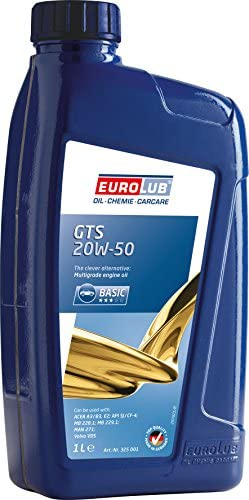 Eurolub Sae 20 W 50 Engine Oil Gts Auto