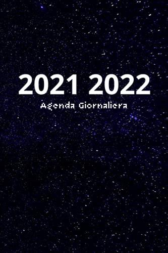 Agenda Giornaliera 2021-2022: Agenda 18 mesi giornaliera formato a5. Un giorno per pagina, dal 1 luglio 2021 al 31 dicembre 2022.