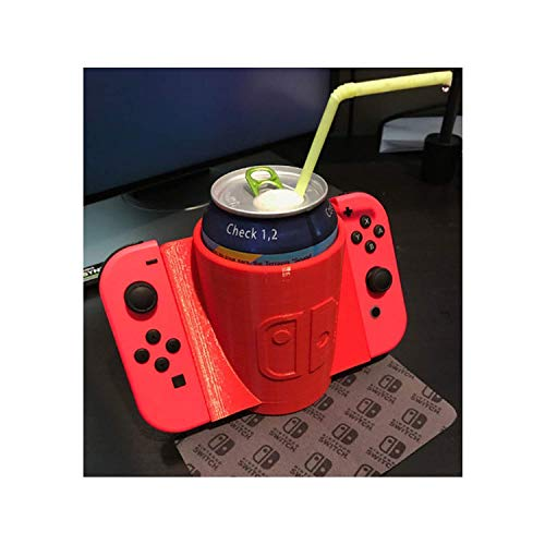 JoyCon Can Grip for Nintendo Switch, Drink Holder Accessory for White Elephant Gift Exchange