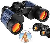 Telescopio monocular, binoculares 60x60, gafas de visión nocturna impermeables de alta potencia, con telescopio de membrana roja coordinada, lentes con revestimiento multicapa para exteriores, caza,