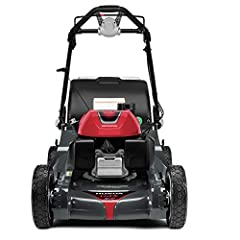 Honda GCV200 engine is powerful, fuel-efficient, and starts up fast Select Drive control allows you to adjust the mower's speed to your liking Mulch, bag, discharge, and shred leaves with the 4-in-1 Versamow System and Clip Director MicroCut Twin Bla...