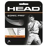 HEAD Unisex-Erwachsene Sonic Pro Set Tennis-Saite, White, 17
