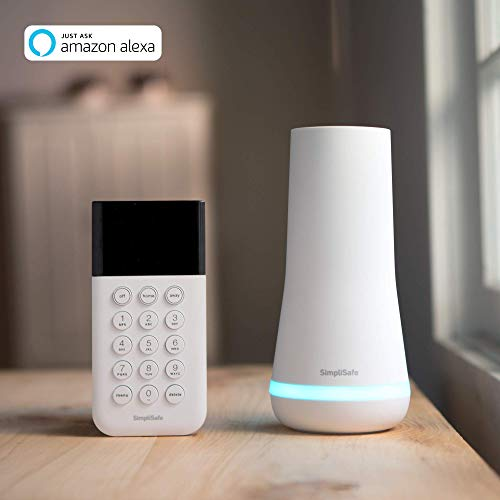 SimpliSafe 12 Piece Wireless Home Security System w/HD Camera - Optional 24/7 Professional Monitoring - No Contract - Compatible with Alexa and Google Assistant