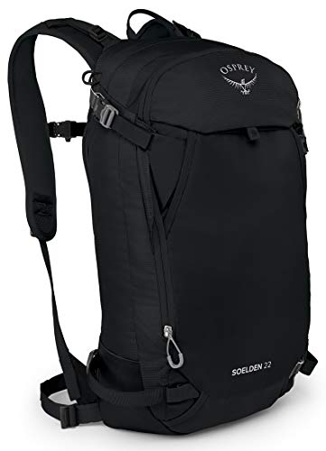 Osprey Soelden 22 Men's Ski Backpack, Black, One Size