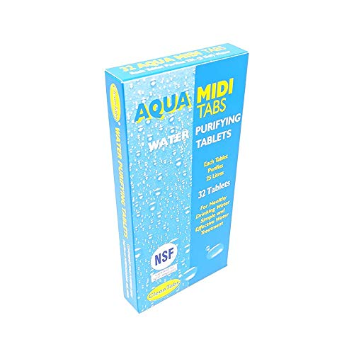 100 Water purification tablet OASIS AQUA CLEAN TABS