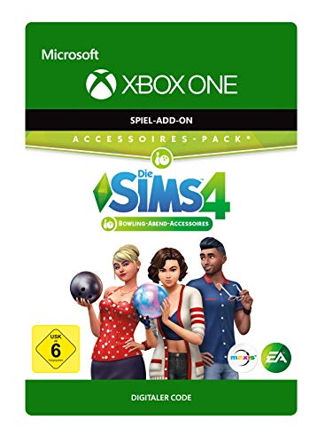 Die Sims 4 - Stuff Pack 10 | Bowling Abend | Xbox One - Download Code