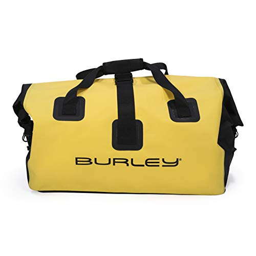 Burley Unisex– Erwachsene Fahrradanhänger-3091987010 Fahrradanhänger, gelb, One Size