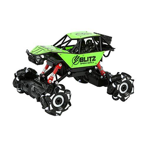 UKtrade Stunt Drift Crawler RC Cars 2.4G Control remoto Bubble Dance Off-Road Juguetes Regalos (verde)