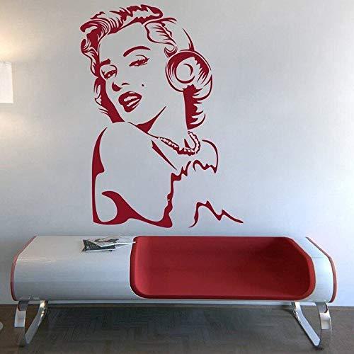 Ajcwhml Diseño Pegatinas de Pared extraíbles decoración de Pared de Vinilo Interior decoración del hogar Mural artístico Interior para Sala de Estar 75X102CM