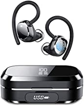 Tiksounds Wireless Earbuds, in Ear Bluetooth Headphones with Digital Display, 150 Hours of Playtime, IPX7 Waterproof, Deep Bass Bluetooth Earbuds for Sports and Work