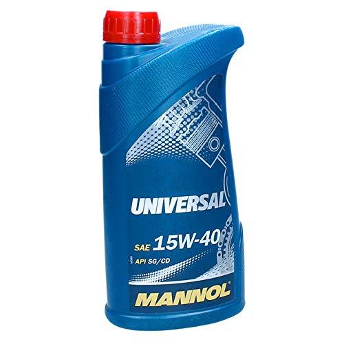 MANNOL 15W40 1 Liter Universal Motoröl