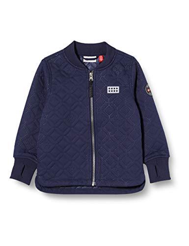 Lego Wear Jungen Lwsolar Thermojacke Jacke, Blau (Dark Navy 590), (Herstellergröße: 86)