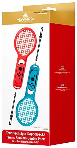 Tennisschläger | Tennis Rackets | Doppelpack | Zubehör für Joy-Cons | Nintendo Switch
