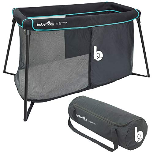 Babymoov Naos Crib amp Playard   2in1 Design Easy Setup Lightweight with Memory Foam Mattress amp Carry Bag Included Patented Design