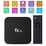 X96 TaNiX TX3 Android 9.0 4GB 32GB Android TV Box 4K Amlogic S905X3