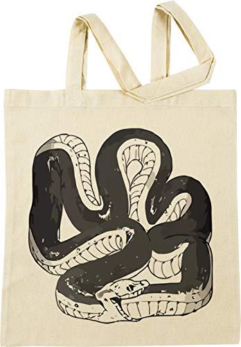 Vendax Chloes Serpiente Camisa Beige Bolsa De Compras
