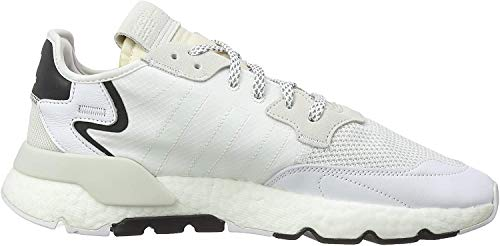 adidas Herren Nite Jogger Laufschuh, FTWR White FTWR White Crystal White, 42 EU
