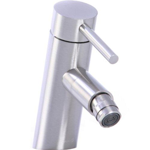 Cifial 221.120.620 Techno Angled Horizontal Spray Bidet Faucet, Satin Nickel