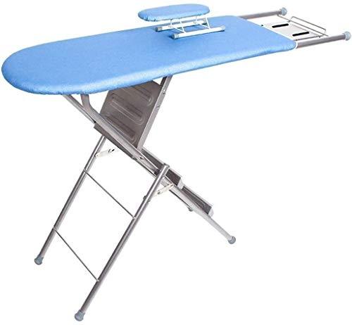 Muy conveniente Multifunción tabla de planchar, Inicio Escalera tabla de planchar de gran tamaño del metal Bastidores de planchado, fácil de almacenar Tamaño: 125 * 34 * 85 cm suministros de lavanderí
