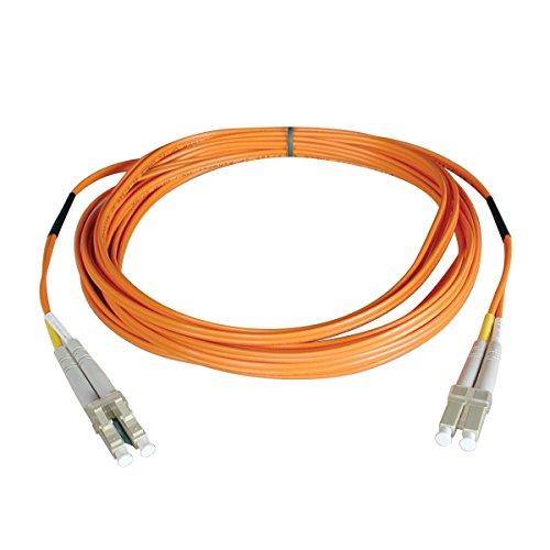 Tripp Lite Duplex Multimode 62.5/125 Fiber Patch Cable (LC/LC), 15M...