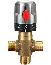 Tik op Cartridges 1PC Brass Pipe thermostaatkraan thermostatische mengkraan Badkamer Water Temperature Control kraan Cartridges Tik op Invoegingen