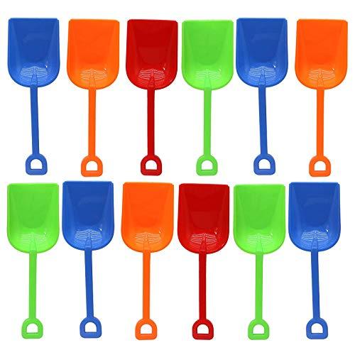Bramble Juego de 15 Pala de Playa para Niños, 9' en Colores Surtidos - Juguetes para la Arena y para la Playa.