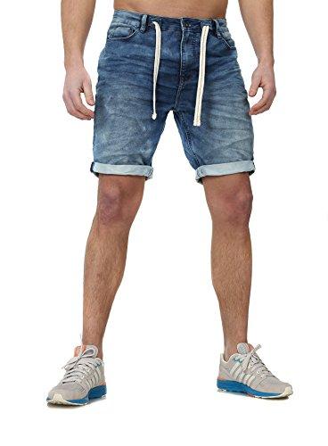 Urban Surface Jogg Denim Shorts zwart