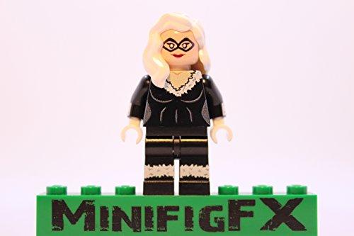 Lego Custom Printed Black Cat Minifig Marvel Super Hero Felicia Hardy