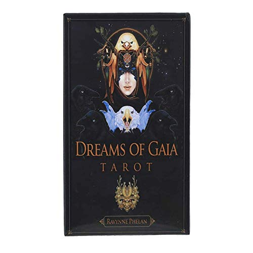 LHJY Oracle Dreams of Gaia Tarot-Karten-Brettspiele Palying Cards for Party Game