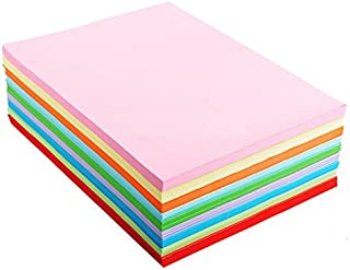 A4 Assorted Colored Origami Paper 10 color, 100 sheets/bags