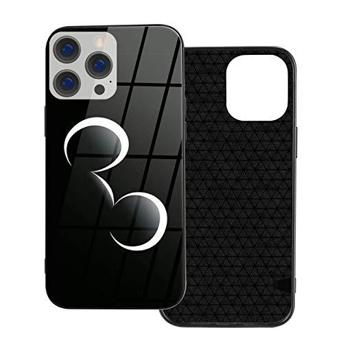 Funda para iPhone 12 Mickey Mouse Anti-Drop compatible con iPhone 12, adecuado para iPhone 12 Pro 6.1/Max 6.7 funda de vidrio ultrafino linda y duradera