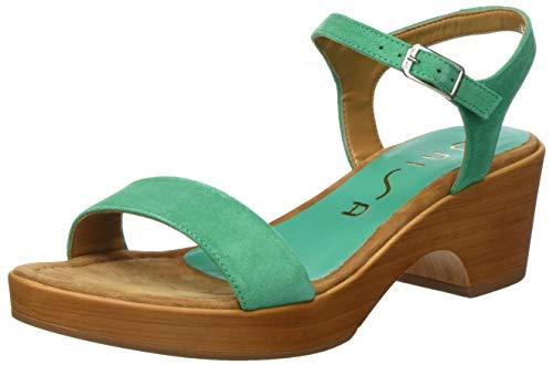 Unisa Women's platform Sandals , Green Peppermint Peppermint , 5 US