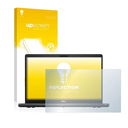 upscreen Entspiegelungs-Schutzfolie kompatibel mit Dell Latitude 5500 – Anti-Reflex Bildschirmschutz-Folie Matt