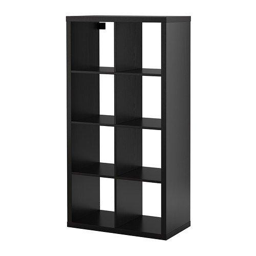 Ikea KALLAX Regal in schwarzbraun; (77x147cm); Kompatibel mit EXPEDIT