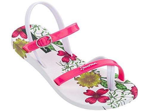 Ipanema 82767 - Sandalias para niña, con dedos de los pies, con correa de goma