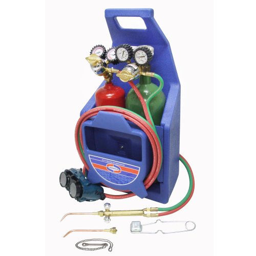 Uniweld K23P Patriot Weld and Braze Outfit with 511 Plastic Carrying Stand