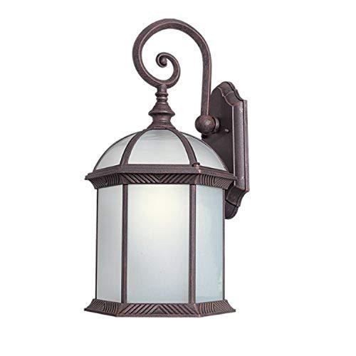 Woodbridge Lighting 61034WL-RTP Outdoor Light, Large, Powder Coat Rust